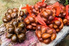 Salakvruchten klaar voor verkoop stock afbeelding
