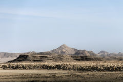 Salalah Oman för berg för landskapsiktsberg dhofar Arkivfoto
