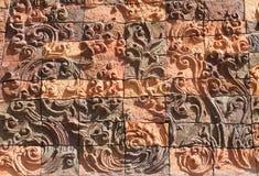 Salaloi tailandés del wat del templo foto de archivo