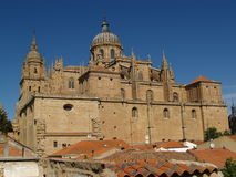 Salamanca. View on the cathedral of Salamanca, Spain Stock Photo
