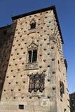 Salamanca Casa de las Conchas Stock Image