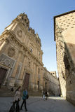 Salamanca Casa de las Conchas Imagenes de archivo