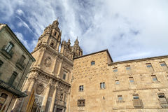 Salamanca Castilla Leon, Spanien Royaltyfri Fotografi