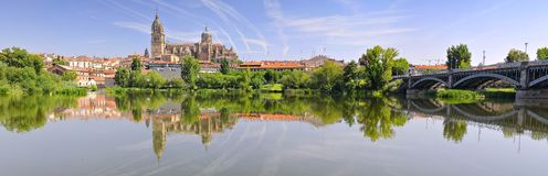 Salamanca Cathedral. Royalty Free Stock Photos