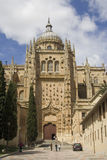 Salamanca cathedral Royalty Free Stock Images