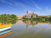 Salamanca cathedral. Stock Image