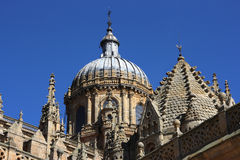Salamanca cathedral Stock Photography