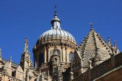 Salamanca cathedral stock photography