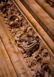Salamanca Cathedral Astronaut Royalty Free Stock Images