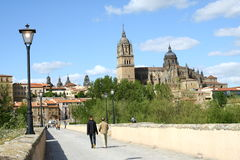Salamanca cathedral Stock Image
