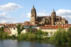 Salamanca cathedral Stock Photos