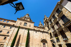 Salamanca cathedral view, Spain, summer Stock Images