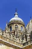 Salamanca cathedral view, Spain, summer Stock Image
