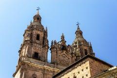 Salamanca cathedral view, Spain, summer Royalty Free Stock Photo