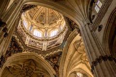Salamanca CathedralDome Royaltyfria Bilder
