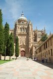 Salamanca - The Cathedrals Royalty Free Stock Photos