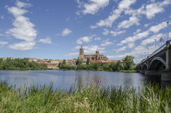 Salamanca Cathedrals Stock Photos