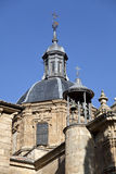 Salamanca Church of San Sebastian Royalty Free Stock Images