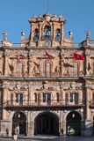 Salamanca city hall Royalty Free Stock Photography