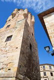 Salamanca - The Clavero Tower. Royalty Free Stock Images