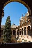 Salamanca - Convento de San Esteban Fotografia Stock