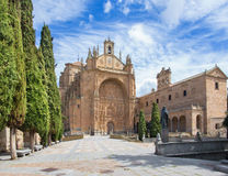 Salamanca - The Convento de San Esteban Royalty Free Stock Images