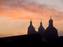 Salamanca at  dawn Royalty Free Stock Image