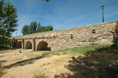 Salamanca - die römische Brücke Stockfotografie