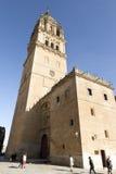 Salamanca domkyrka Arkivfoto