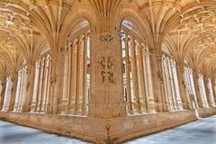 SALAMANCA: The gothic atrium of monastery Convento de San Esteban. Stock Photos