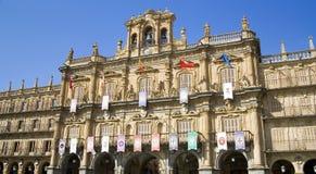 Salamanca-Hauptquadrat Lizenzfreie Stockfotografie