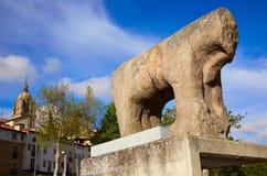 Salamanca Iberian Verraco sculpture Spain Royalty Free Stock Photography