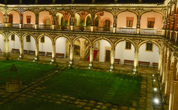 Salamanca inner court Royalty Free Stock Photos