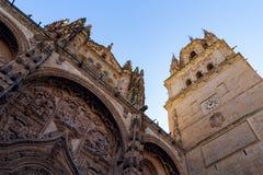 Salamanca-Kathedrale Lizenzfreie Stockbilder
