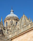 Salamanca-Kathedralen-Haube Lizenzfreie Stockfotos
