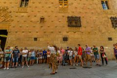 Salamanca - la Spagna Fotografie Stock Libere da Diritti