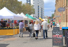 Salamanca Market Hobart Australia Stock Photography