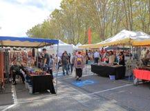 Salamanca Market Hobart Australia Stock Photos