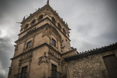 Salamanca monuments. Building of stone monuments heritage Salamanca royalty free stock image