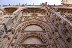 Salamanca New Cathedral (Catedral Nueva) Royalty Free Stock Photos