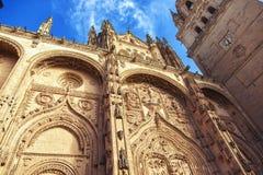Salamanca New Cathedral Royalty Free Stock Photo
