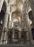 Salamanca New Cathedral (Interior) Stock Photo