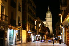 Salamanca at night Stock Photos