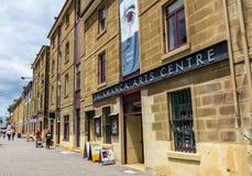 Salamanca Place, Hobart, Tasmania Australia Royalty Free Stock Photos