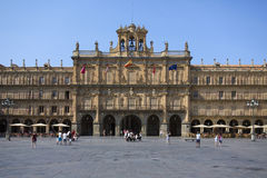 Salamanca - Plaza Major - Spain Royalty Free Stock Image