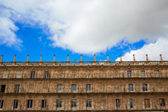Salamanca Plaza Mayor in Spain Royalty Free Stock Photography