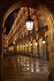 Salamanca Plaza Mayor in Spain Stock Photo