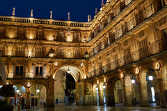 Salamanca Plaza Mayor in Spain Royalty Free Stock Photos