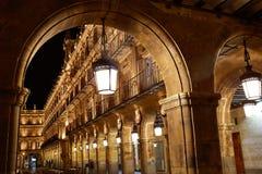 Salamanca Plaza Mayor in Spain Stock Photos