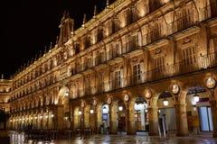 Salamanca Plaza Mayor in Spain Royalty Free Stock Photo
